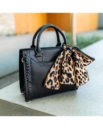 H718 Mine Bag c/lenço animal print
