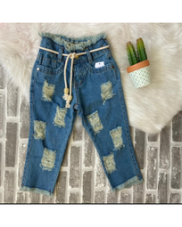 Calça Jeans FlaShoes Kids