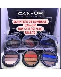 Quarteto de sombra can-up cx c/18 R$124,00