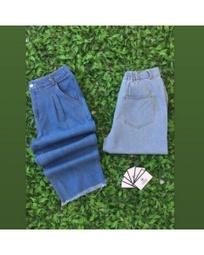 Calça pantacourt Ozzo Fashion