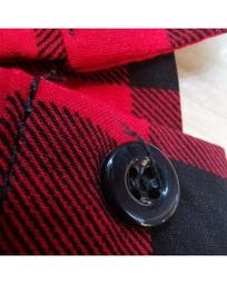 Camisa Plus Size xadrez feminina REF:Y23