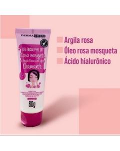 Gel Peel Off Argila Rosa e Rosa Mosqueta Dermachem