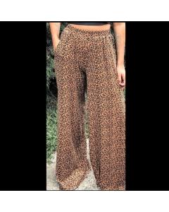 Calça  pantalona Alisa Moda Feminina