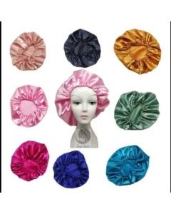 Touca de Setim colors com 12 unidades ( Aleatório )