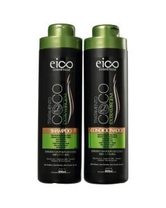 Kit Eico Coco Extra Virgem Shampoo + Condicionador 800ml