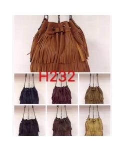 H232 bolsa e transversal alça corrente