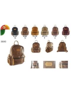 H680 mochila c/três bolsos