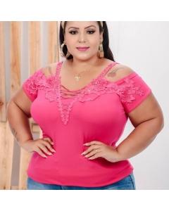 Blusa Plus Size feminina BJ Fashion