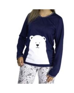 Pijama de frio urso polar