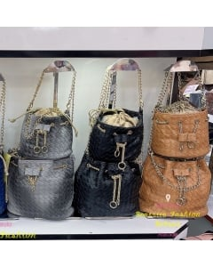 Mini kits bolsas feminina com alça corrente