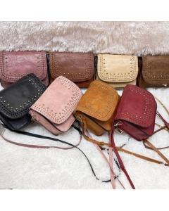 Bolsinha Feminina transvesal Kits de 3 peças cores variados