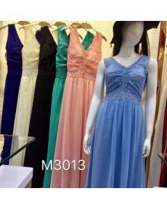 Vestido de festa  longo M3013