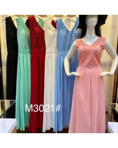 Vestido de festa longo M3021