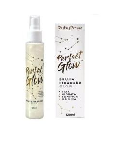 Bruma Fixadora Ruby Rose 120ml - Perfect Glow Hb334 1 Unidade