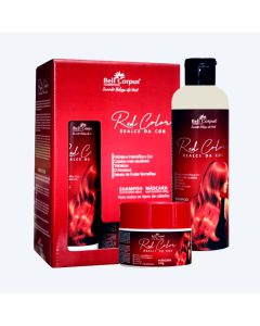 Kit Capilar Red Color Bell Corpus