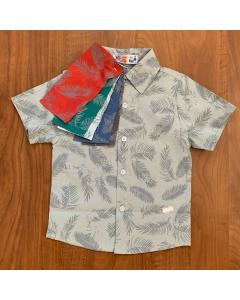 Ref. 1042 - Camisa Manga Curta Estampada 10/16