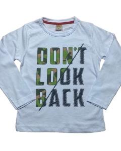 Kit 4 Camiseta Manga Longa Infantil Juvenil - Atacado