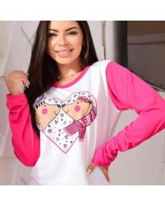 Pijama e Camisola Clara Moda Intima