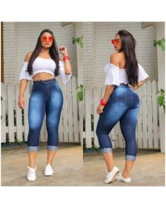 Calça Jeans Coração moda Brás cod-26