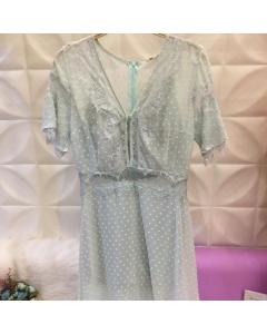 COD: DH013 Vestido de Renda Crystal Love - Made in China