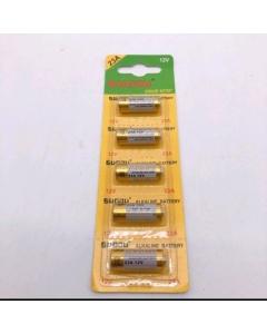 Cartela com 06 unidades  bateria 23A