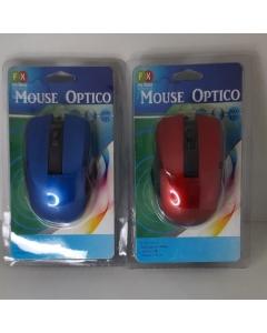 Mouse Óptico USB com.fio 1000DPI  ref:MZ4561
