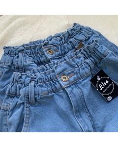 Calça jeans Cintura elástica Elsa Moda