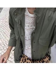 Parka Fk Moda Feminina