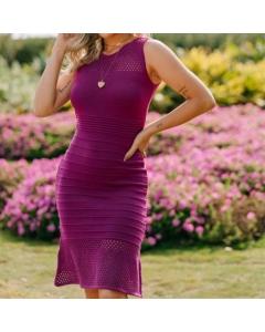 Vestido Gabriele Modas Tricot