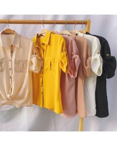 Camisa feminina manga curta #1115 Golden Tulip