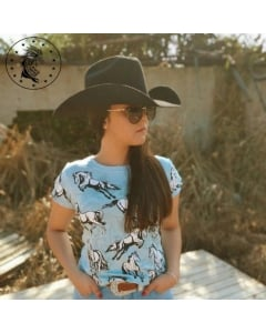 Blusa T-shirt Instinto Country