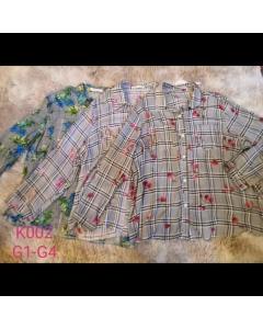 Blusa Plus Size k002