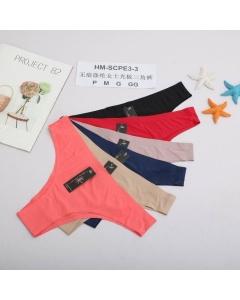 Calcinha sem Costura Tanga (Ideal para usar com vestidos ou legging para não marcar na roupa) Luki Modas