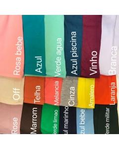 Kit 10 peças Blusa promoção cores variadas tamanho 5 M   ,5G   tecido viscolycra                                                       Maya Modas