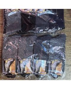 Pacote de meias adulto Sport social com 12 pares