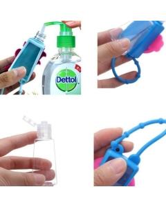 Porta álcool gel em silicone 1 dúzia