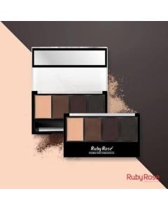 Paleta de sobrancelha Ruby Rose