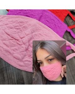 Máscara de tricot Neidde Modas