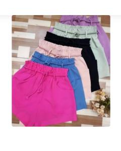 Shorts com Cinto Plus Size DLL92303P