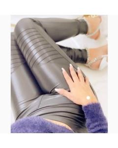 Calça tratorada em Cirrê P M G GG @outletval_modasevariedades