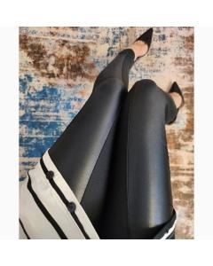 Calça Montaria Flanelada com recorte em Cirrê P M G GG @outletval_modasevariedades