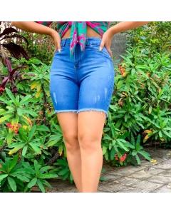 Bermuda jeans com lycra fabricante Paul_a_beatri_z_jeans