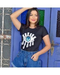 T-shirt de Olho Grego