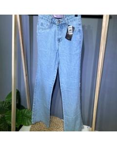 Calça wideleg jeans novidade Rita Modass