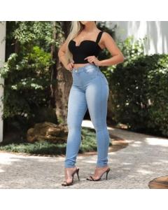 Calça hot pants delave Salig Jeans Ref: 1754