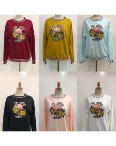 Moletom blusa de frio top Varias cores - JM710 Sister Fashion