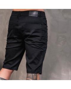 Bermuda Jeans masculino preto