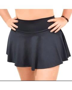 Saia shorts saia suplex liso  moda academia fitnes moda feminina
