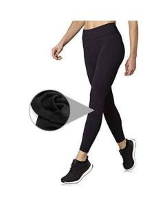Calça Legging feminina flanelada por dentro legue forrada leg pelúciada inverno moda feminina