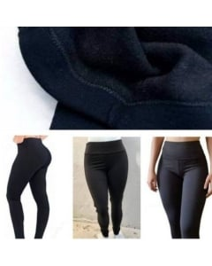 Calça Legging pelúciada flanelada legue quentinha inverno leg moda feminina moda academia fitnes